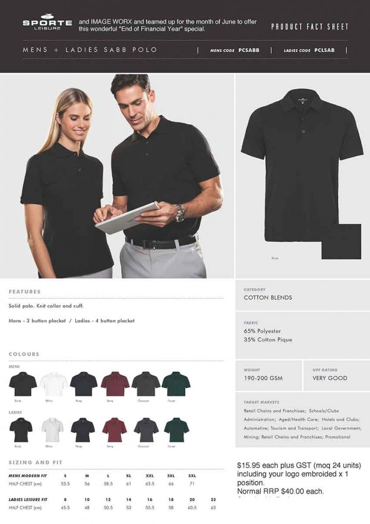 Promotional Ideas-Polo Shirt Special-850w